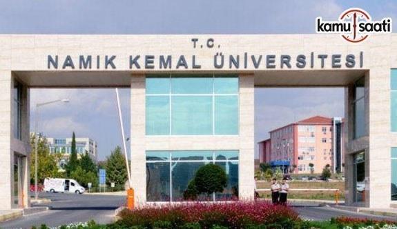 Namık Kemal Üniversitesi Tıp Fakültesi Lisans Eğitim ve Öğretim Yönetmeliği