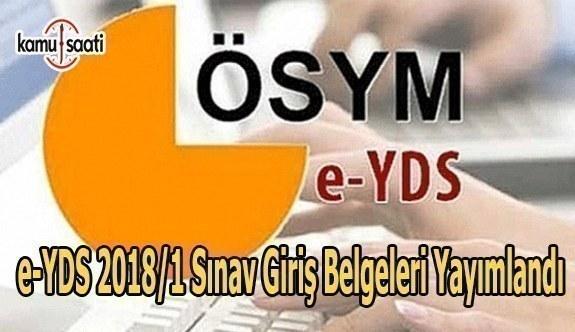 ÖSYM, e-YDS sınav giriş belgelerini yayımladı
