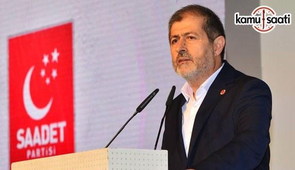 Saadet Partisi İstanbul İl Başkanı Sevim'in 10 Ocak Çalışan Gazeteciler Günü dolayısıyla açıklama yaptı