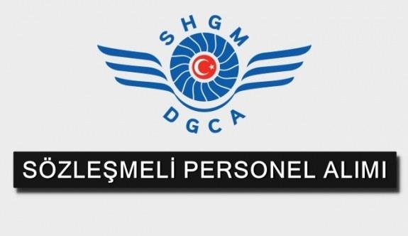 Sivil Havacılık Genel Müdürlüğü Sözleşmeli Personel Alacak