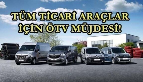 Tüm ticari araçlar için ÖTV müjdesi! Başbakan Yıldırım...