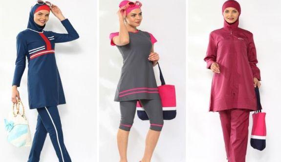 Yazın Giyilebilecek Tesettür Mayo Modelleri ve Çeşitleri