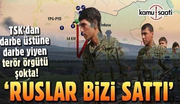 YPG: Rusya bize ihanet etti!