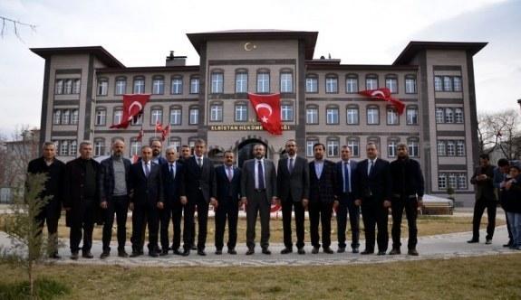 AK Partili Mahir Ünal'dan Zeytin Dalı Harekatı gazisine ziyaret