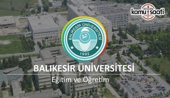 Balıkesir Üniversitesi Lisansüstü Eğitim-Öğretim ve Sınav Yönetmeliğinde Değişiklik