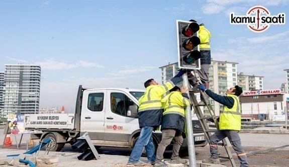 Başkent Ankara'da 70 kavşağa sinyalizasyon sistemi