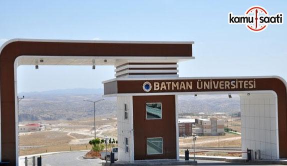 Batman Üniversitesi Tarımsal Uygulama ve Araştırma Merkezi Yönetmeliği - 18 Şubat 2018