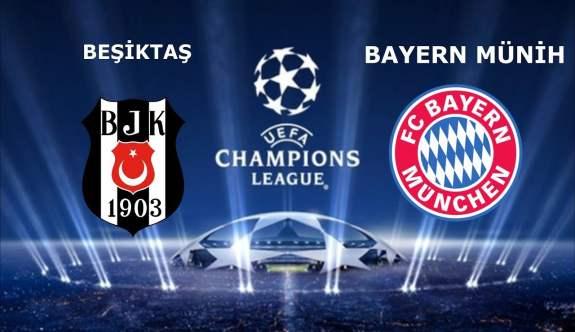Bayern Munih Beşiktaş Maçı muhtemel ilk 11'leri