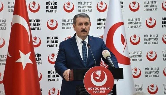 BBP Genel Başkanı Destici'den İlker Başbuğ açıklaması