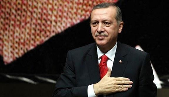 Cumhurbaşkanı Erdoğan Başkan Serrac'ı kabul etti