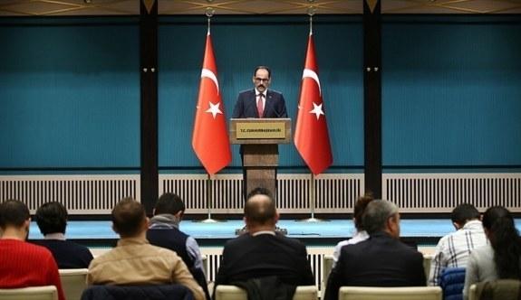 Cumhurbaşkanlığı Sözcüsü Kalın'dan flaş vize serbesti açıklaması