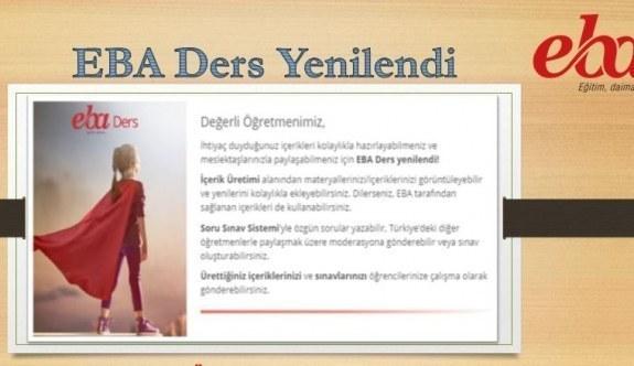 EBA Ders İçeriklerinde Yenilikler! MEB'den açıklama
