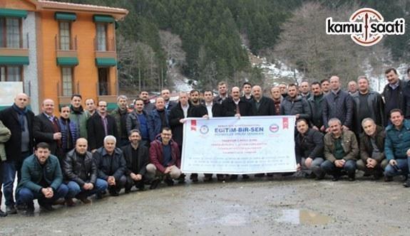 Eğitim-Bir-Sen Trabzon 1 No'lu Şube İl divan toplantısı gerçekleştirildi