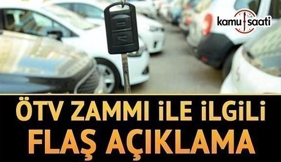 Elektrikli otomobillerde ÖTV zammı iddialarına ilişkin açıklama