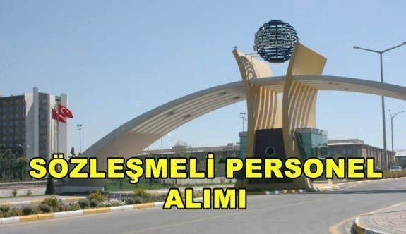 Eskişehir Osmangazi Üniversitesi sözleşmeli personel alacak