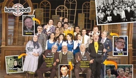 'Hababam Sınıfı' yıllar sonra sahnede yeniden hayat buldu