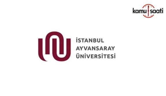 İstanbul Ayvansaray Üniversitesi Lisansüstü Eğitim ve Öğretim Yönetmeliği - 8 Şubat 2018