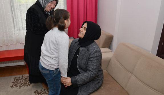 İstanbul Valisi Vasip Şahin'in eşi Şeyma Şahin, Galip Öztürk Çocuk Evlerini ziyaret etti