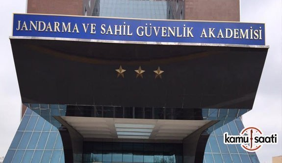 Jandarma ve Sahil Güvenlik Akademisi Başkanlığı Eğitim Merkezi Komutanlığı Temin Yönetmeliğinde Değişiklik Yapıldı- 26 Şubat 2018