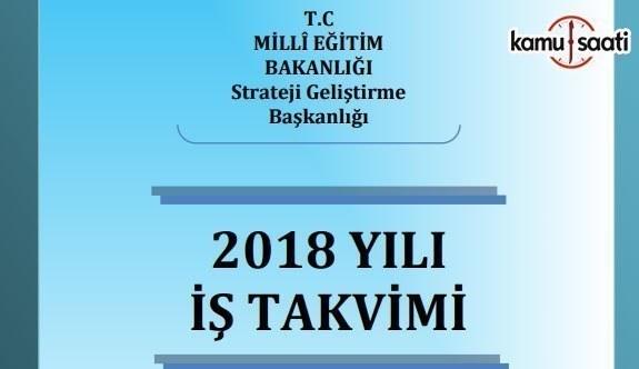 MEB 2018 Yılı İş Takvimi Yayınlandı