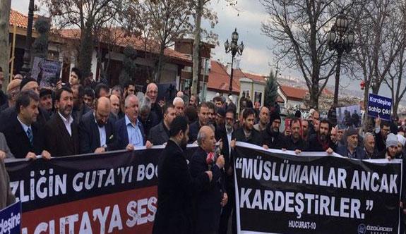"""Memur-Sen Ankara İl Başkanı Mustafa Kır: """"Doğu Guta halkı yardım bekliyor"""" dedi"""
