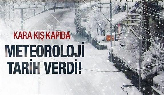 Meteoroloji'den şiddetli kar yağışı uyarısı!