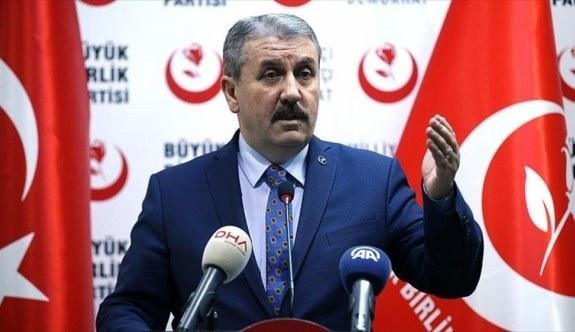 Mustafa Destici'den Zeytin Dalı Harekatı açıklaması