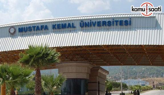 Mustafa Kemal Üniversitesi Kariyer Planlama Uygulama ve Araştırma Merkezi Yönetmeliğinde Değişiklik Yapıldı - 19 Şubat 2018