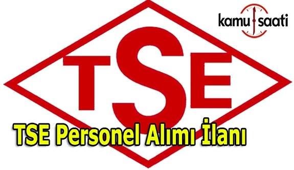 TSE sözleşmeli personel alımı ilanı