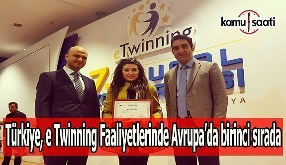 Türkiye, e Twinning faaliyetlerinde Avrupa'da birinci sırada