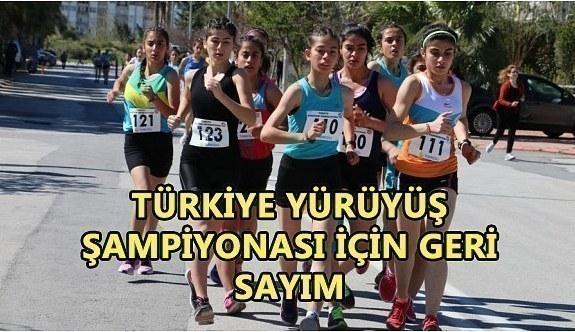 Türkiye Yürüyüş Şampiyonası Antalya'da yapılacak