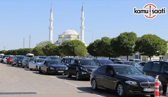 Yabancı plakalı araçlara sınırda ceza ödeme zorunluluğu
