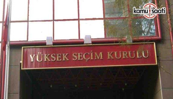 YSK Memur Sınav, Atama, Yer Değiştirme ve Nakil Yönetmeliği - 18 Şubat 2018