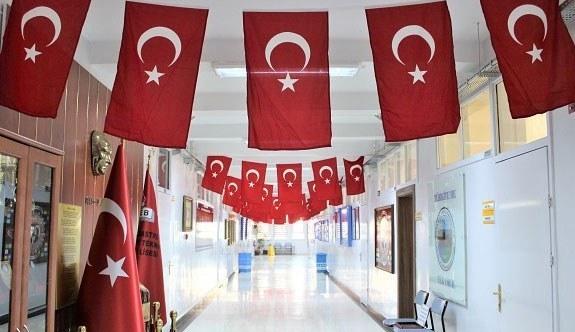 Afrin Zeytin Dalı Harekatı'na bir destek'de Ankara Çankaya Tapu Kadastro Mesleki ve Teknik Anadolu Lisesi Öğrencilerinden geldi