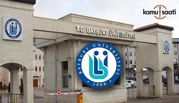 Bayburt Üniversitesi Ön Lisans ve Lisans Eğitim-Öğretim Yönetmeliğinde Değişiklik Yapıldı - 4 Mart 2018