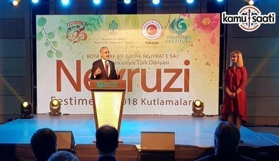 Cumhurbaşkanı Başdanışmanı Yalçın Topçu Arnavutluk'ta temaslarda bulundu