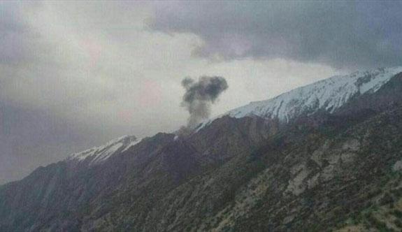 İran'da düşen özel Türk uçağında ölen 8 kişinin cesedi tespit edildi
