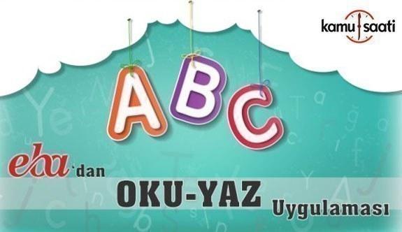 MEB'in OKU YAZ mobil uygulaması, EBA'da yayımlanmaya başladı