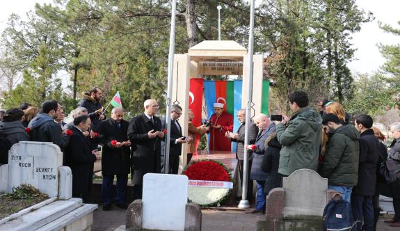 Mehmet Emin Resulzade Kabri Başında Anıldı