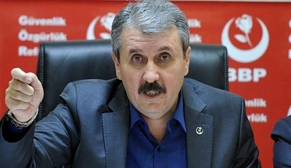 Mustafa Destici: Bunlar doğru şeyler değil