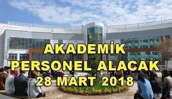 Necmettin Erbakan Üniversitesi 20 Akademik Personel Alacak - 28 Mart 2018