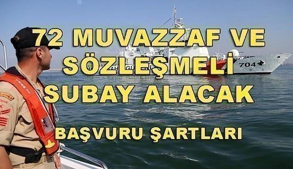 Sahil Güvenlik Komutanlığı 72 Muvazzaf/Sözleşmeli Subay Alacak - Başvuru şartları