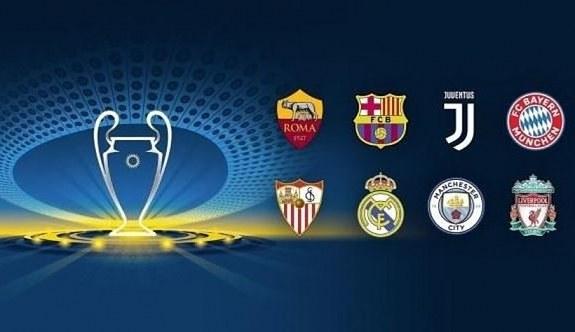 Şampiyonlar Ligi çeyrek final eşleşmeleri açıklandı