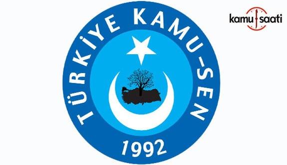 """Türkiye Kamu-Sen """"Emekli Büyümeden Pay İstiyor"""""""