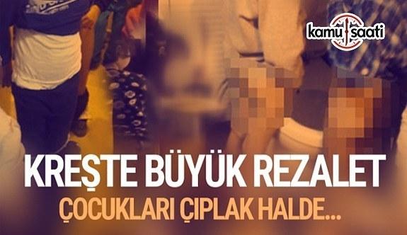 Tuzla'da özel anaokulunda skandal