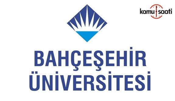 Bahçeşehir Üniversitesi Lisansüstü Eğitim ve Öğretim Yönetmeliğinde Değişiklik Yapıldı - 16 Nisan 2018 Pazartesi
