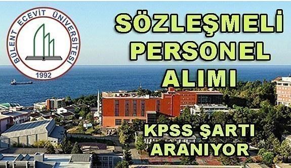 Bülent Ecevit Üniversitesi 52 Sözleşmeli Personel Alımı Yapacak