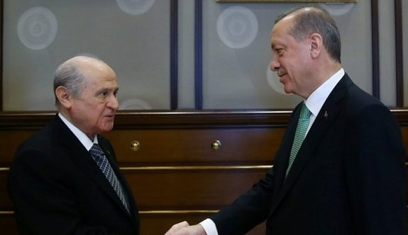 Cumhurbaşkanı Erdoğan ile Devlet Bahçeli görüşecek