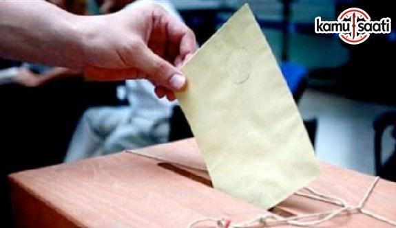 MEB Seçimlerde Sandık Başkanlığı ve Üyeliğine ilişkin Resmi Yazı