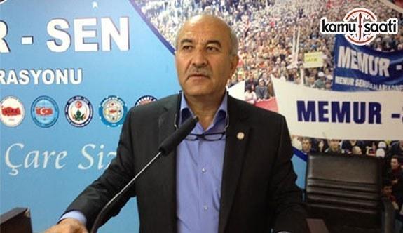 Memur-Sen Ankara İl Başkanı Mustafa Kır, Miraç Kandili dolayısıyla mesaj yayımladı